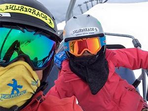 Corso snowboard mattina