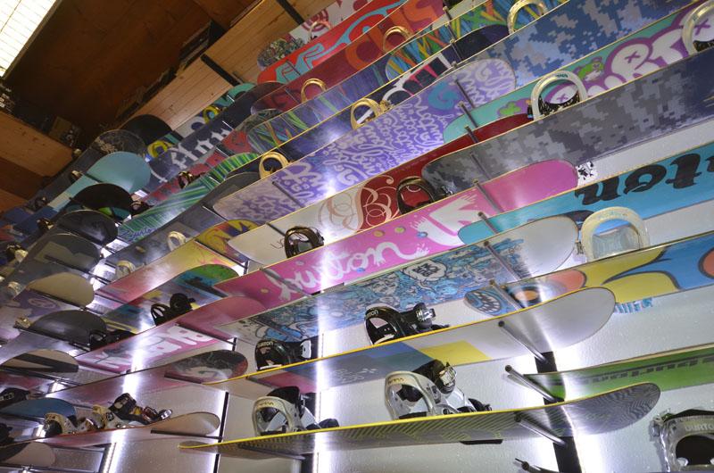 Noleggio snowboard Cortina