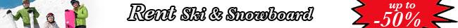 Ski and snowboard online rental