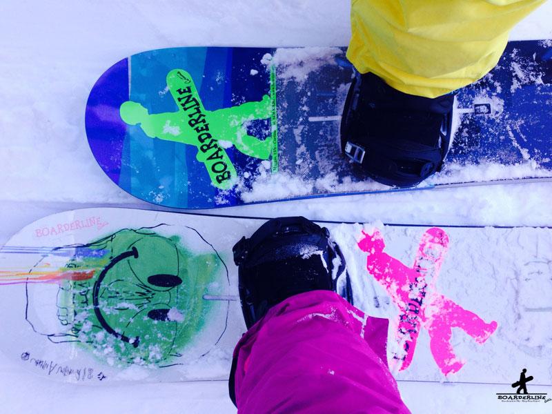 Noleggio snowboard online