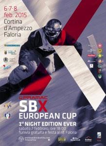 Coppa Europa di snowboard a Cortina
