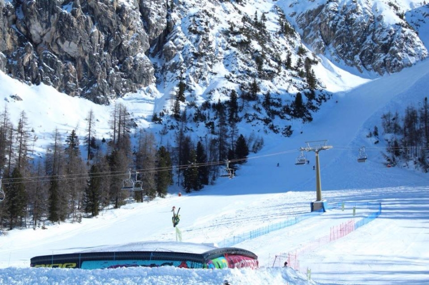 Big Air Bag in Faloria, Cortina