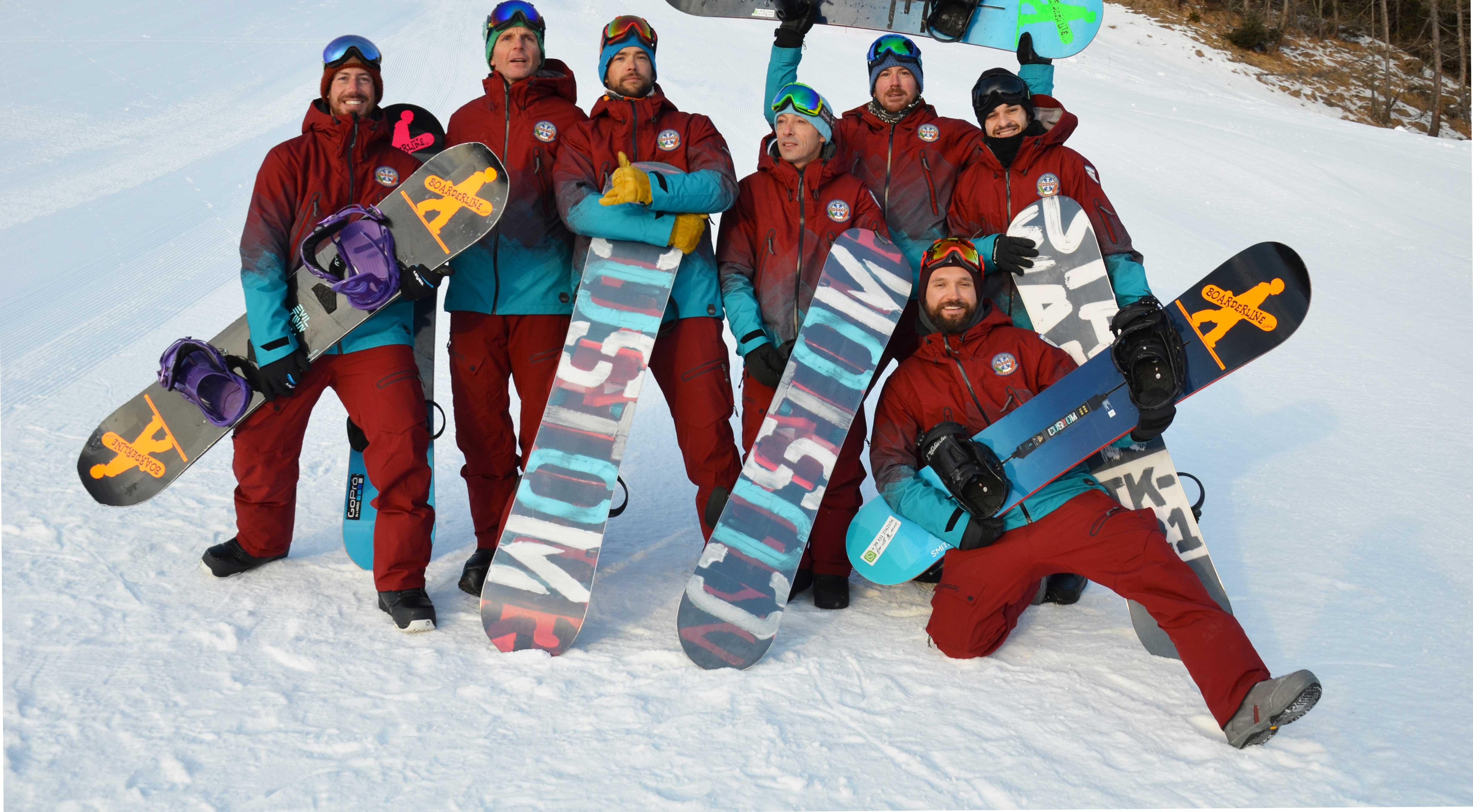 Maestri snowboard Boarderline