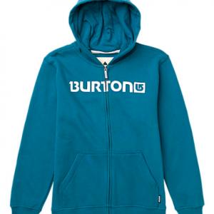 Burton Felpa Youth Logo Horz Cerulean