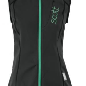 Scott Women's Soft Actifit Vest Protector Black/Green