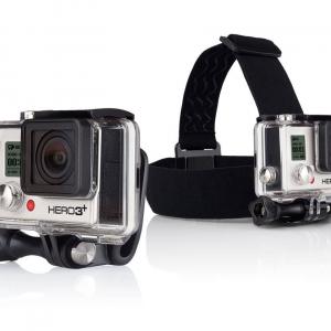 GoPro HEAD STRAP – Elastico testa con aggancio rapido