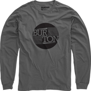 Burton T-Shirt Gamma LS Charcoal