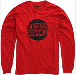 Burton T-Shirt Gamma LS Red