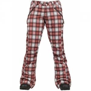 Burton Pantalone Twc High-Jinx Redwood Grunge Plaid