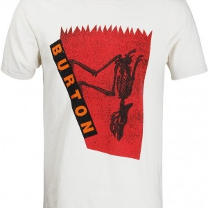 Burton T-Shirt Carnivore Vintage White