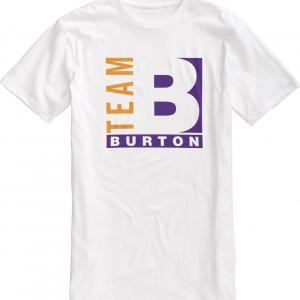 Burton T-Shirt Team 1990 Vintage White