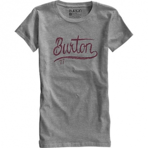 Burton T-Shirt Dream Team Heather Pewter