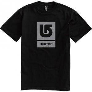 Burton T-Shirt Logo Vertical True Black