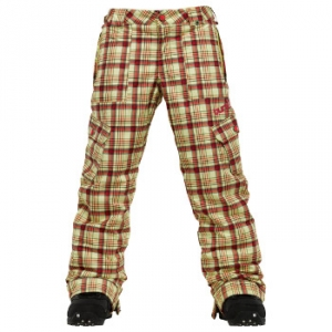 Burton Pantalone Cargo Elite Candy Plaid