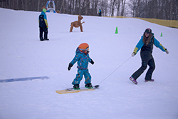 Children's Snowboard Lessons in Cortina