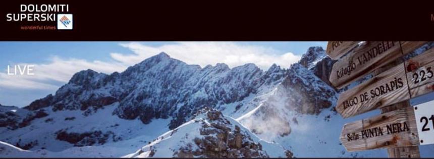 Impianti aperti a Cortina