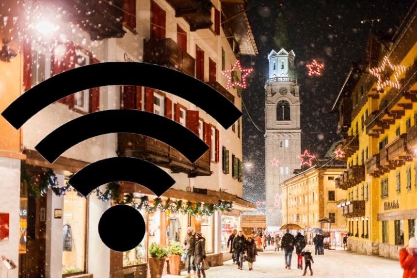 Wifi a Cortina d'Ampezzo