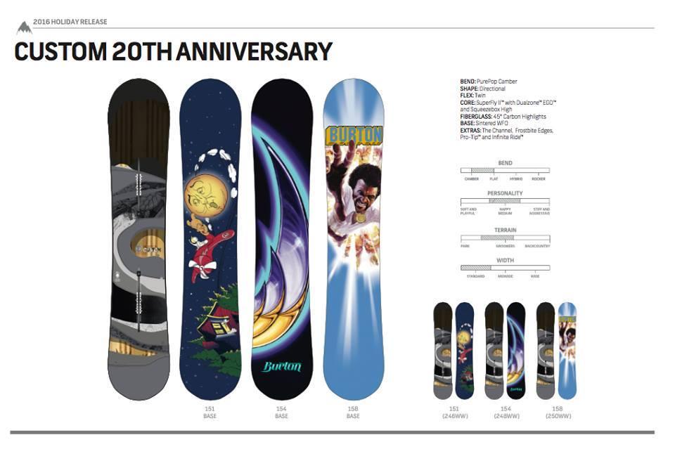 Burton Custom 20th anniversary