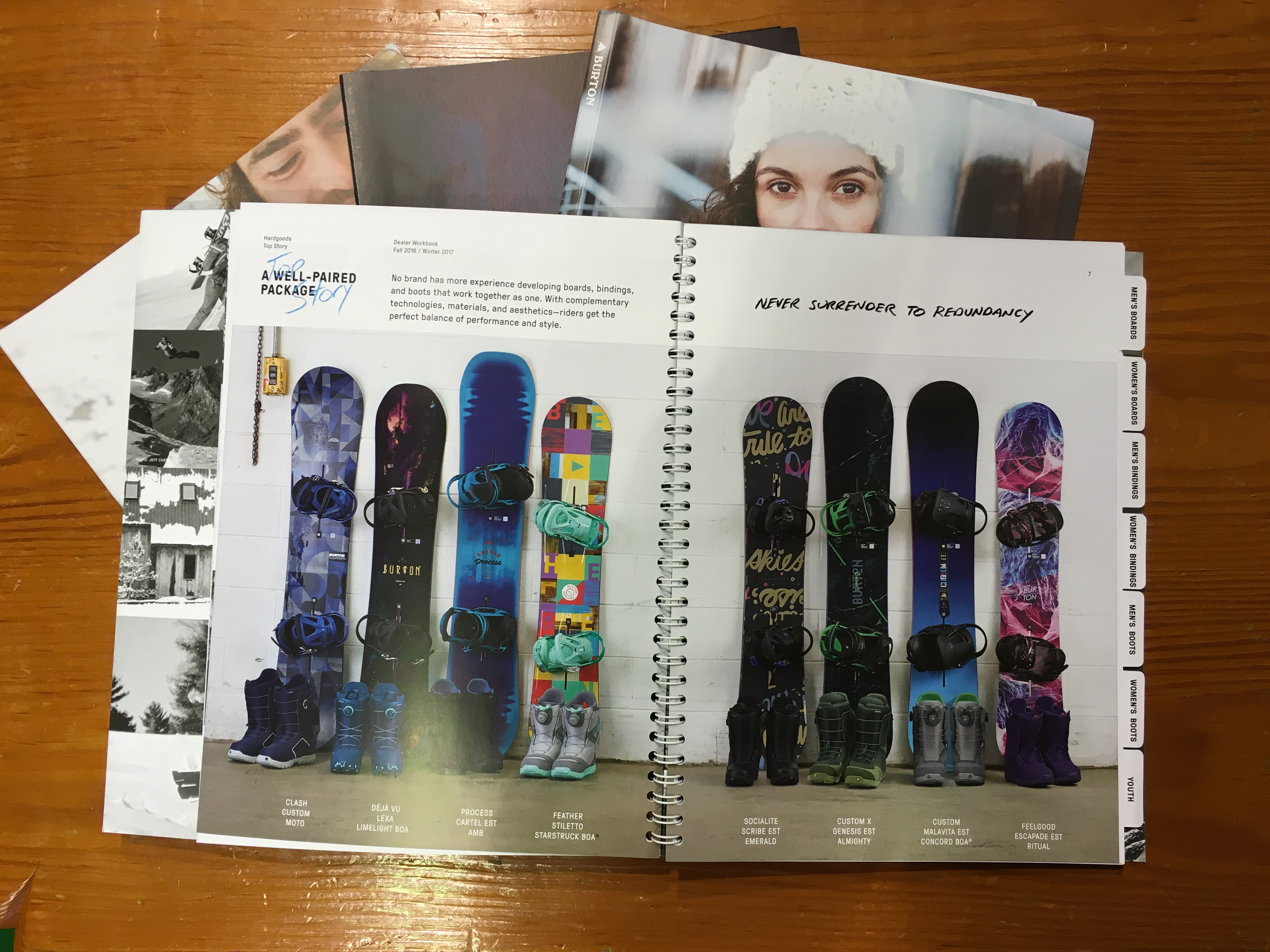 Snowboard Burton catalogo 2017