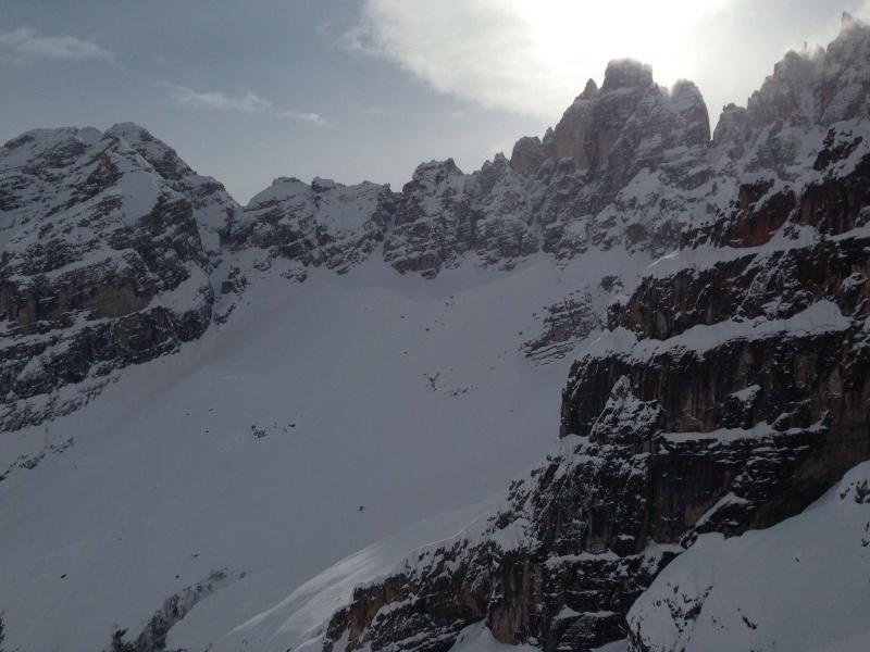 Neve fresca a Cortina d'Ampezzo
