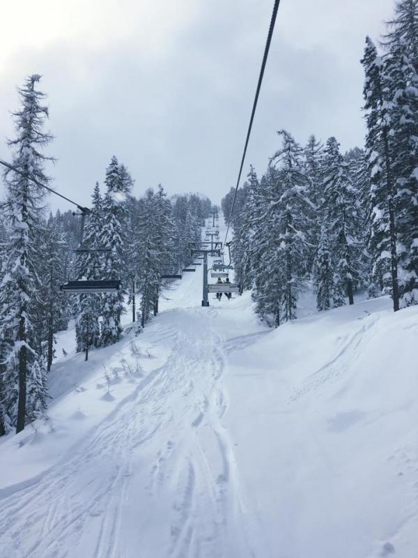 Cortina: neve a marzo