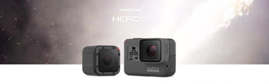 GoPro HERO 5 + karma