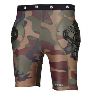 Burton Youth's Total Impact Short Camo, Protected by G-Form™ (Copy)