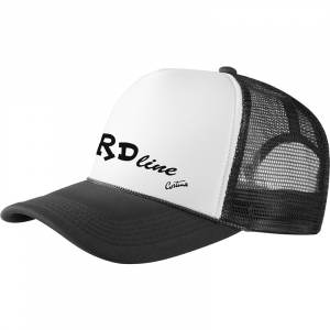 BRDline Black Baseball Cap Trucker
