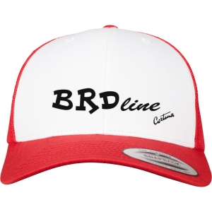 BRDline Retro Trucker Colored_Front_red