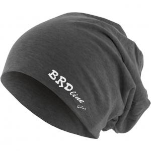 BRDline berretto logo charcoal